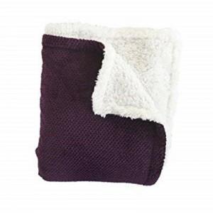 Woven Workz - Shelley Purple Blanket 127x152cm (875740007202)