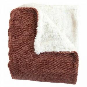 Woven Workz - Shelley Chocolate Blanket 127x178cm (875740007301)
