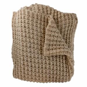 Woven Workz - Claire Camel Blanket 127x152cm (875740007523)