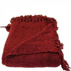 Woven Workz - Marion Raspberry Blanket 127x178cm (875740003730)